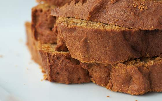 Orange Spiced Pumpkin Bread with Hazelnuts and Cranberries Recipe