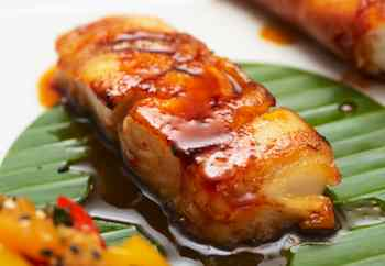 Sustainable Seafood recipes: Pan-Seared Sablefish with Soy-Sesame Glaze