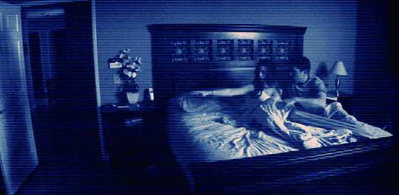 Chloe Csengery and Jessica Tyler Brown in Paranormal Activity 3