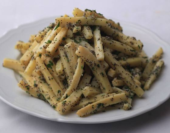 Parsnips with Horseradish and Chives Recipe