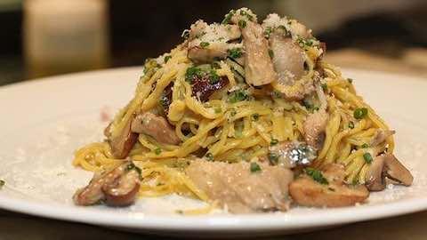 Pasta with Asparagus, Ricotta and Prosciutto Recipe