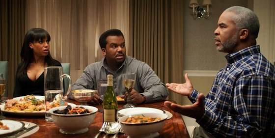 Craig Robinson and Kerry Washington  in 'Peeples'