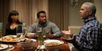 Craig Robinson and Kerry Washington  in 'Peeples'
