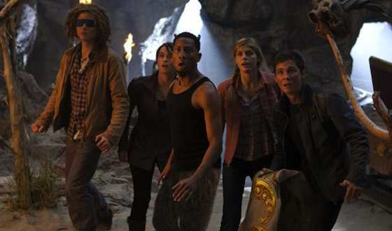 'Percy Jackson: Sea of Monsters' Movie Review - Logan Lerman and Brandon T. Jackson  | Movie Reviews Site