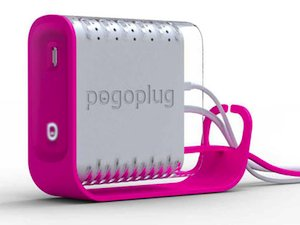 The new Pogoplug arrives in a colorful and whimsical package. This cutting-edge device has ports for four USB drives. The Pogoplug makes the drives' contents available to family and friends, PCs or Macs, around the home and across the Internet. The Pogoplug service makes networking possible without a computer science degree.