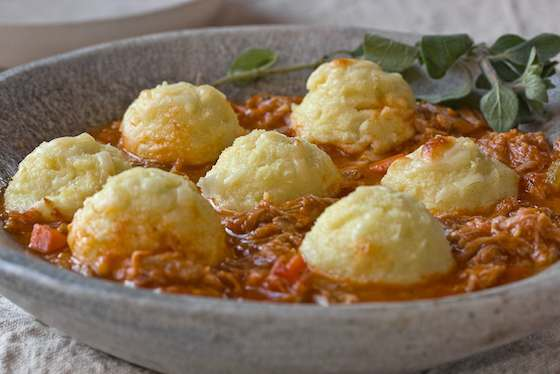 Pork Ragu with Semolina Gnocchi Recipe