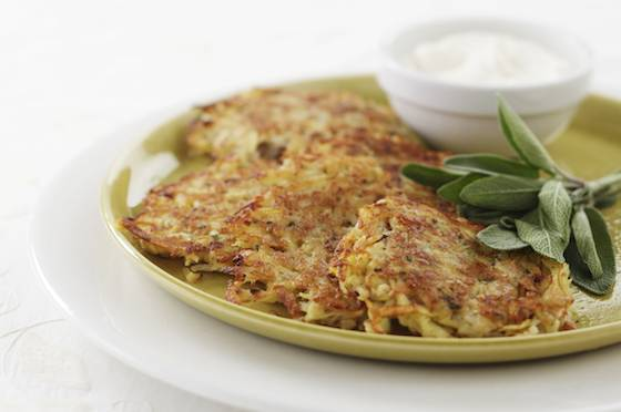 Potato-Pear Latkes Recipe