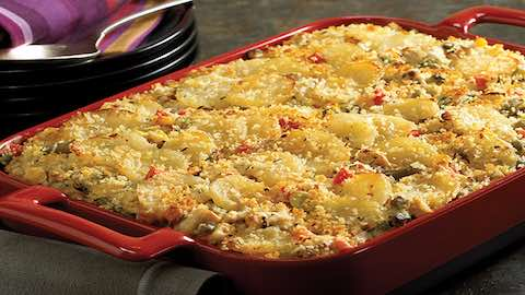 Potato, Turkey and Veggie Casserole Recipe