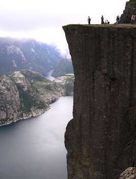 Preikestolen (The Pulpit Rock), Forsand, Norway