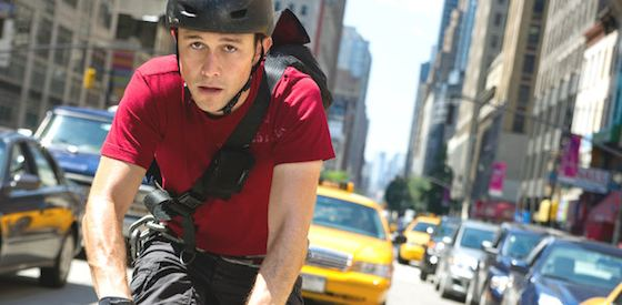 Joseph Gordon-Levitt and Michael Shannon  in Premium Rush