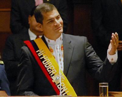 Rafael Correa accomplishments