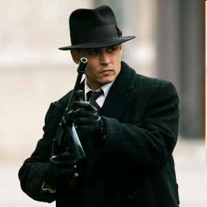 Johnny Depp & Christian Bale in the movie Public Enemies. Movie Review & Trailer. Find out what is happening in Film visit iHaveNet.com