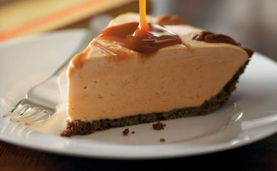 Pumpkin-Caramel Ice Cream Pie Recipe