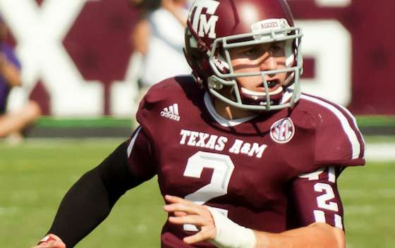Quarterback Johnny Manziel Joins 2014 NFL Draft