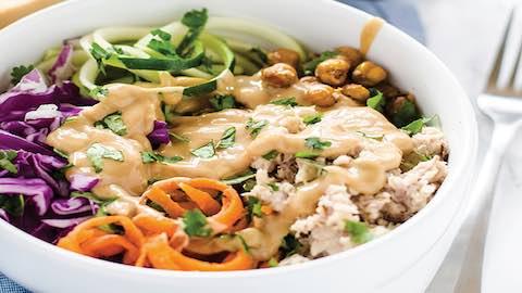 Quinoa Salad Bowl with Tuna Recipe