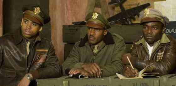 Nate Parker and David Oyelowoin Red Tails