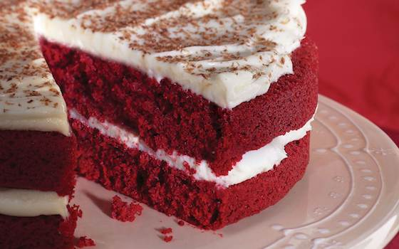 Red Velvet Cake with Cream Cheese Frosting Recipe