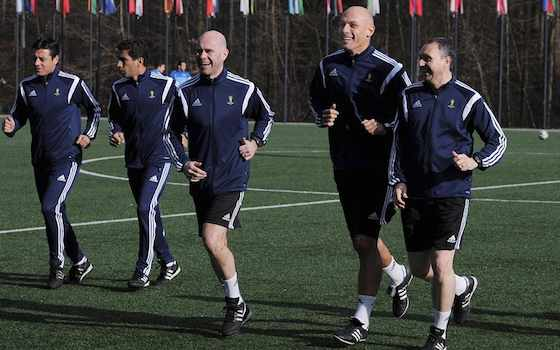 Referees Get Ready for 2014 FIFA World Cup | Soccer