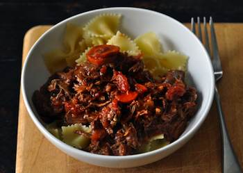A Recipe for Winter: Rich and Meaty Lamb Ragu