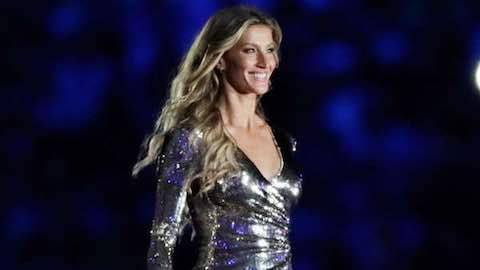 Gisele Dances It Up at 2016 Rio Olympics Opening Ceremony