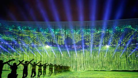 Opening Ceremony Kicks Off Rio 2016