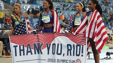 Team USA's Record Breaking Rio Olympics