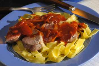 Roast Pork Tenderloin with Balsamic-Maple Sauce  Recipe Recipe