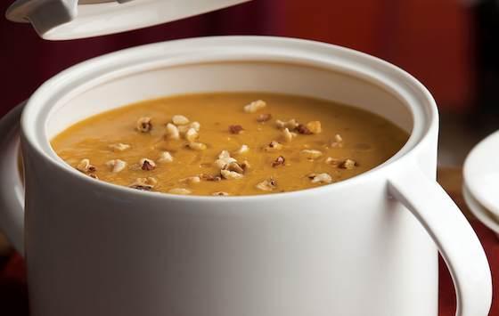 Roasted Pumpkin-Apple Soup Recipe