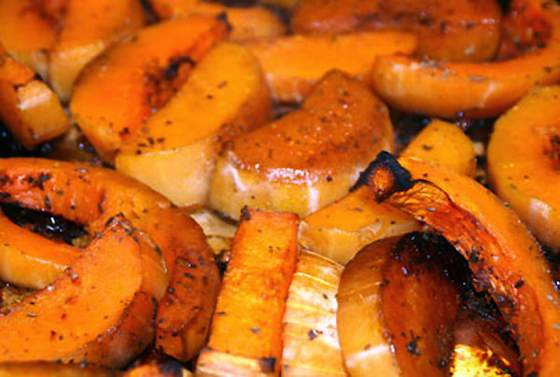 Roasted Sweet and Spicy Butternut Squash Recipe