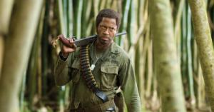 Best Supporting Actor Oscar Academy Award Nomination Robert Downey Jr. as Kirk Lazarus in the movie Tropic Thunder