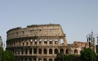 The Colosseum is the centerpiece of the Forum, the area that was the seat of judicial, political, and commercial life in ancient Rome.