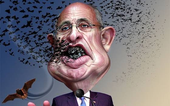 Giuliani: Nutball or Sleazeball?