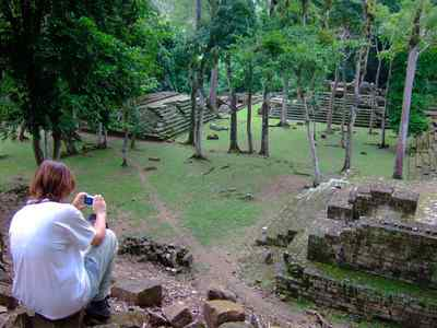 Ruins of Copan - Copan is the site of a major Mayan kingdom that flourished between the 5th and 9th centuries A.D.