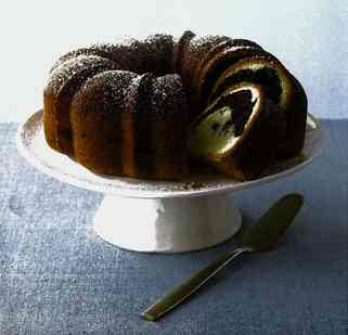 Rum-Scented Marble Bundt Cake Recipe | Dessert Cake Recipes