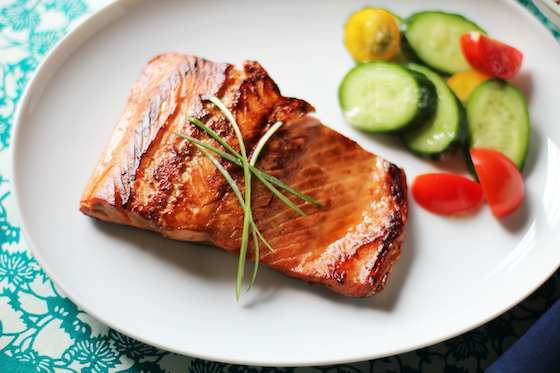 Salmon Teriyaki Done Simply, As It Should Be Recipe