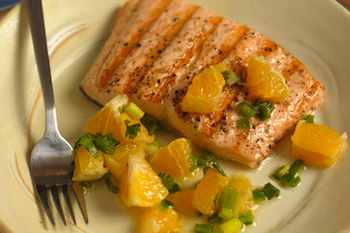 Salmon with Orange Salsa Recipe