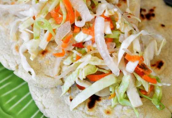 Salvadoran Pupusas con Curtido Recipe