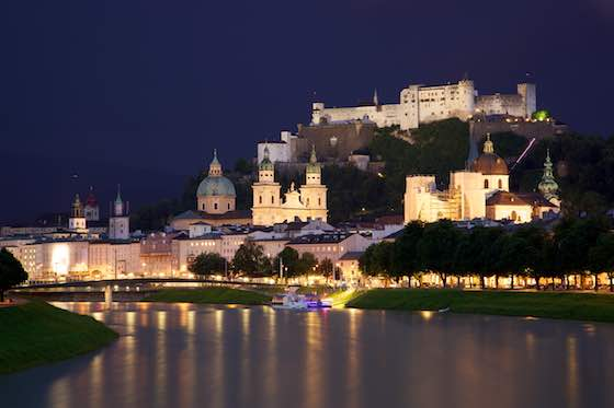 Salzburg Austria: Stage Of The World