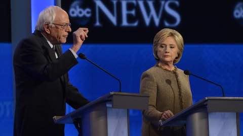 Sanders vs Clinton on Economic Inequality