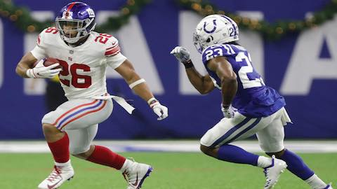 Saquon Barkley Named NFL Rookie Of The Year
