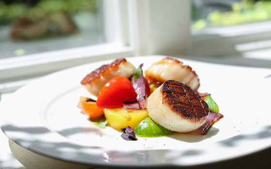 Sea Scallops alla Caprese Recipe