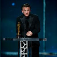 The Oscar� goes to Sean Penn Best Lead Actor Oscar Academy Award Nomination Sean Penn plays Harvey Milk in the movie Milk