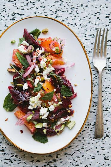 Sicilian-Inspired Blood Orange Salad Recipe