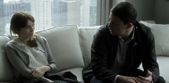 Rooney Mara and Channing Tatum  in 'Side Effects'