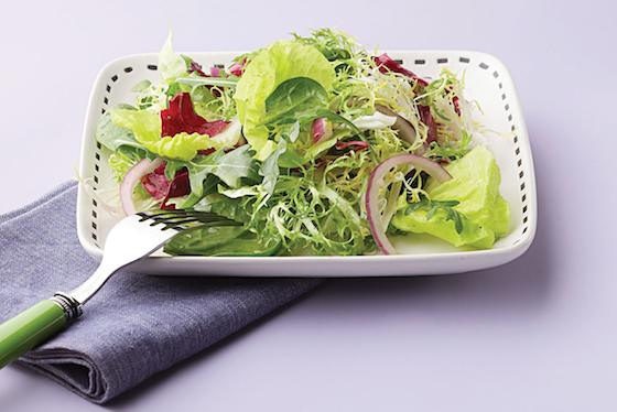 Simple Green Salad with Citronette Recipe