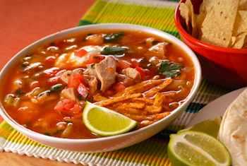 Simple Sopa Azteca, or Chicken Tortilla Soup Recipe