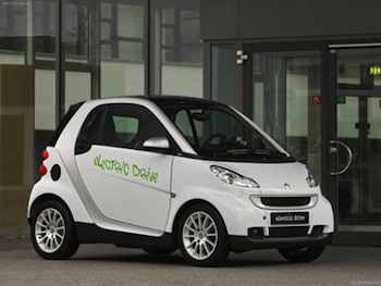 Smart fortwo electric version (EV)