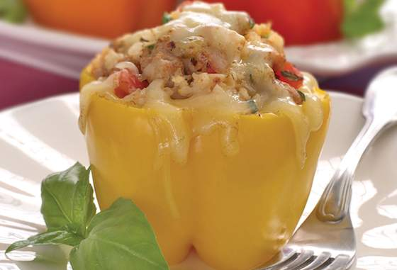 Smoky Stuffed Peppers Recipe