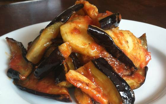 Spiced Eggplant Recipe