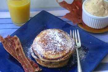 Spiced Pancakes with Maple Butter recipes